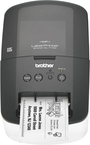 Brother QL-710W Wireless Label Thermal Printer with Labels