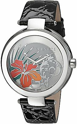 VERSACE Mystique Silver Hibiscus Ladies Watch 19Q99D1HI S009 RRP £990 - NEW