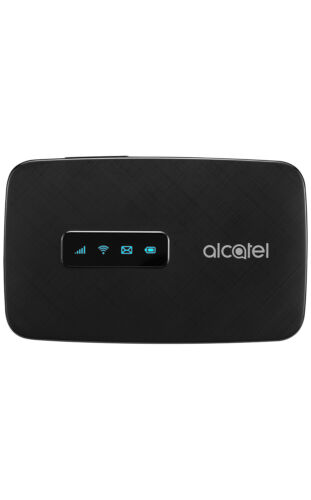 Alcatel LinkZone MW41NF - Black (Factory Unlocked) 4G LTE Mobile Hotspot Modem