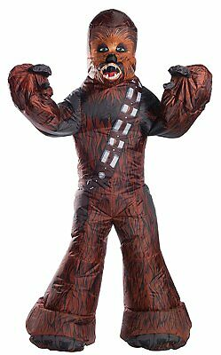 Inflatable Chewbacca Star Wars Wookie Fancy Dress Up Halloween Adult Costume