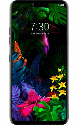 LG G8 ThinQ - 128GB - AT&T Black Android Smartphone