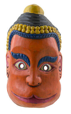 Mask Tibetan Deity Hanuman Monkey 27cm Himalayan Shaman Tibet Nepal 26811
