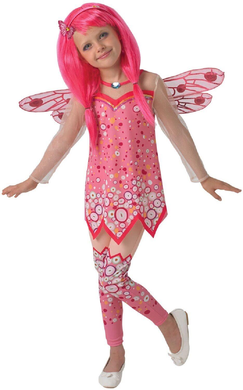 Girls Green Purple Fairy Wings Tutu Skirt Fancy Dress Costume Outfit Kit