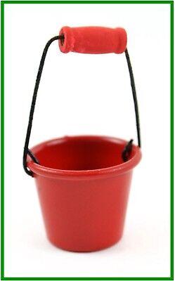 Fairy Garden Fun Beach Pail Red Water Garden Bucket Dollhouse Miniature NEW](Red Beach Pail)