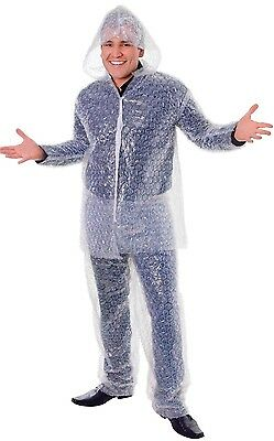 Mens Ladies Bubble Wrap Suit Festival Hen Stag Do Fancy Dress Costume Outfit](Bubble Suit Costume)