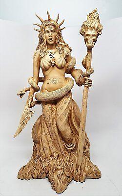 Greek Mythology Hecate Hekate Magic Goddess Figurine Statue