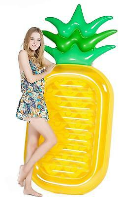 Giant Pineapple Pool Party Float Raft Summer Outdoor Swimming Inflatable Floatie
