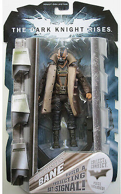 """THE DARK KNIGHT RISES Movie Masters Collection_BANE 6"""" figure_Build a Bat-Signal"""