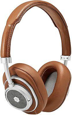 Master & Dynamic MW50+ 2-in-1 Wireless On Ear/Over Ear Headphones - Silver/Brown