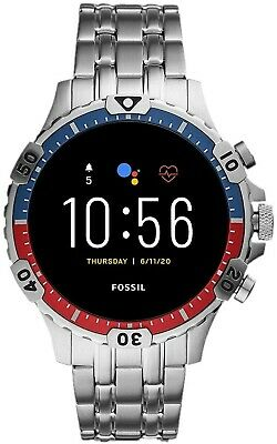 SmartWatch Fossil GEN 5 Garrett HR GPS, NFC, Haut parleur,...