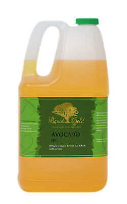 Gallon Premium Avocado Oil Pure Organic Fresh Best Quality Skin Care Nails