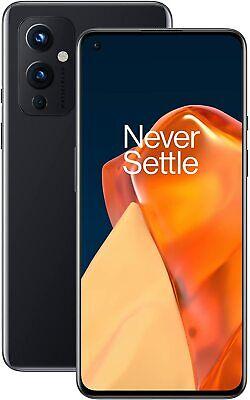 OnePlus 9 5G, Dual SIM, Nero Astrale, 256GB 12GB, Garanzia Ufficiale, No Brand