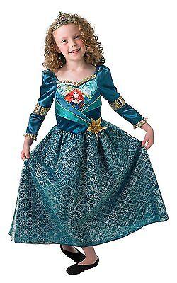 Rubies 3888999 Disney's MERIDA Shimmer * S M L, 4-8 Jahre, 116-140 * Princess
