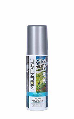 Mountval Geruchsneutralisierer & Schuhspray gegen Geruch für Wanderschuhe,...