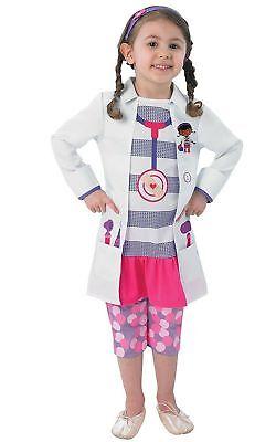 Rubie's 889549 costume Carnevale Bambina Dottoressa Peluche classic 2-3 anni.