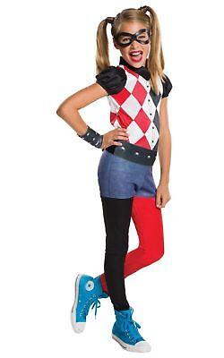 Rubies Harley Quinn Gotham Batman Joker Childrens Girls Halloween Costume - Harley Joker Girl Kostüm