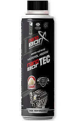 Nanoborx 300ml Öl Additiv Motor Power Motor schutz Zusatz Bor Motorbeschichtung