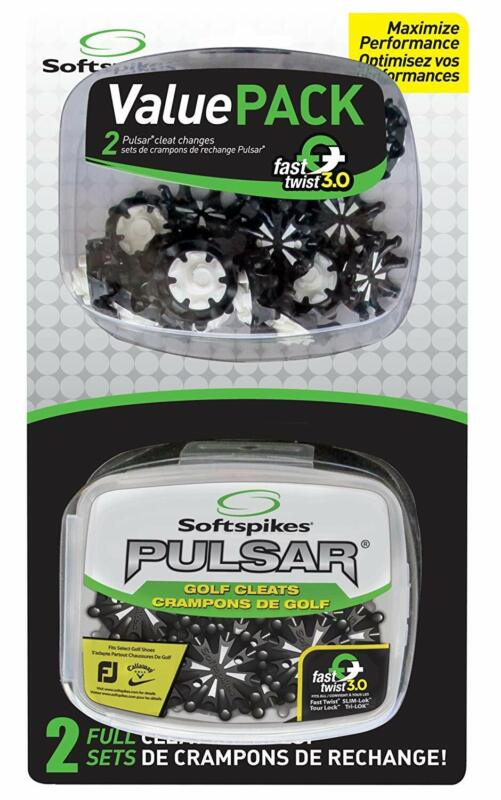 Softspikes Pulsar Value Pack 2 Full Cleat Changes w/ Fast Twist 3.0, 36 Cleats