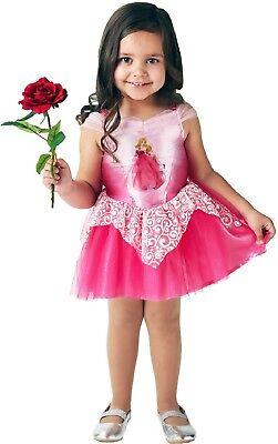 Girls Disney Sleeping Beauty Tutu Ballerina Book Day Fancy Dress Costume Outfit