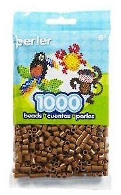 1000 Perler Light Brown Color Iron On Fuse Beads: 80-19021 - Fused Beads