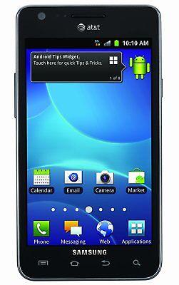 Samsung Galaxy S2 Phones - Samsung Galaxy S II S2 SGH-I777 16GB Smartphone Black AT&T