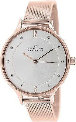 Skagen Women's Anita SKW2151 Rose Gold Stainless-Steel Quartz Fashion Watch