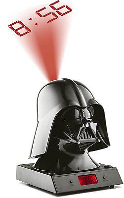 Star Wars Zeon Despertador Proyector Reloj Sonidos de Respiracion Darth Vader segunda mano  Embacar hacia Mexico