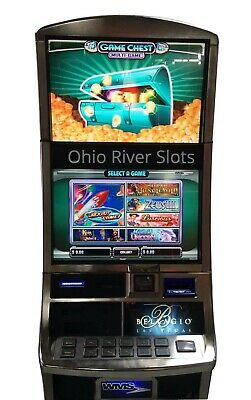 "Williams Bluebird 2 Slot Machine ""GAME CHEST"" 6 Games! RARE!"
