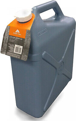 6 Gallon Water Carrier Jug Jerry Can Heavy Duty Plastic Vehicule Camping Hiking Jerry Can Carrier