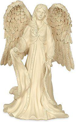 "ANGEL OF GRACE Ivory Classic Angel Figurine, 8.25"" Tall, by AngelStar, 8369"