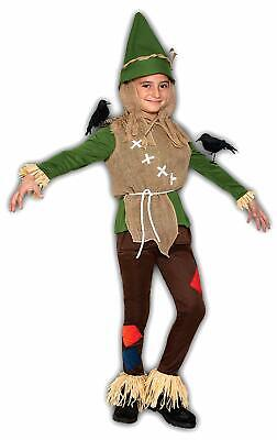 Cute Scarecrow Costume (Scarecrow Boy Scary Monster Cute Brown Fancy Dress Up Halloween Child)