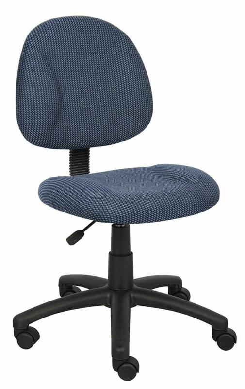 task chair without arms office computer seat