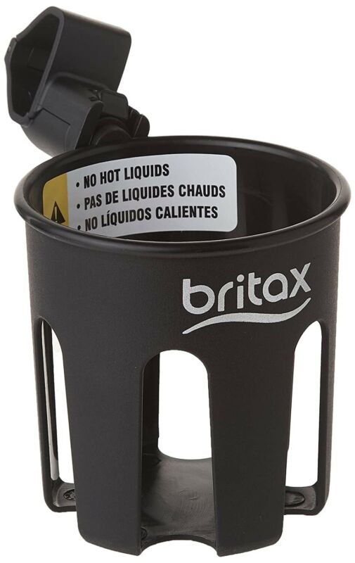 Britax Stroller Cup Holder, Black - Compatible with B-Agile, B-Free NEW