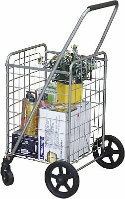 Wellmax Wm99024s Grocery Utility Shopping Cart Easily Collapsible And...