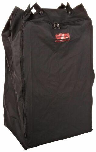 Rubbermaid 6350 Premium Step-On Linen Hamper Bag, Black NEW