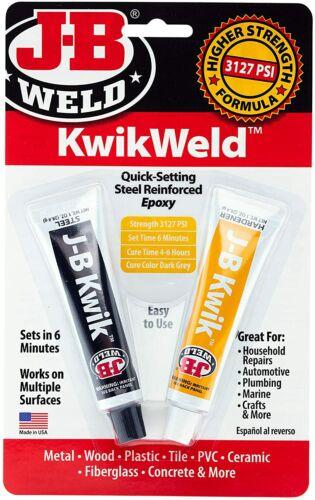 Strongest Metal Steel Aluminum Bond Adhesive Cold Weld Reinforced Epoxy Glue,2oz