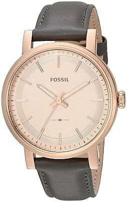 Fossil Women's Quartz Stainless Steel and Leather Casual Watch ES4180