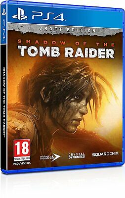 SHADOW OF THE TOMB RAIDER - CROFT EDITION PS4 VIDEOGIOCO ITALIANO PLAYSTATION 4