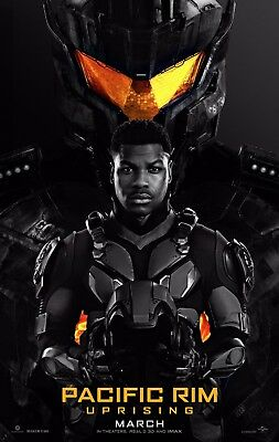 Pacific Rim Uprising 2018 Original D/S 27x40 Theatrical Poster John Boyega for sale  Houston