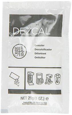 URNEX DEZCAL COFFEE & ESPRESSO MACHINE DESCALER - 10 Distinct-USE 1-oz. PACKETS