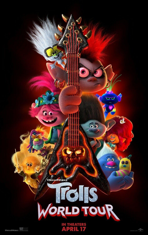 "Trolls World Tour ""C"" 27x40 Original D/S Movie POSTER"