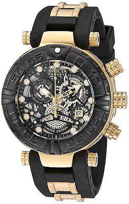 Invicta 23460 Men's Subaqua Chronograph 47mm Black Dial Watch