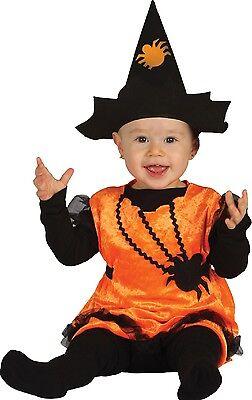 Baby Mädchen Spinne Hexe Süß Halloween Kostüm Kleid Outfit 6-24 Months ()