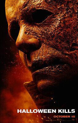 Halloween Kills - original DS movie poster - 27x40 D/S - 2021