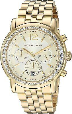 Michael Kors Women's MK5982 Baisley Gold Stainless-Steel Watch