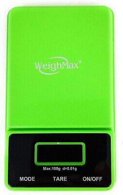Weighmax 100g X 0.01g Digital Scale Jewelry Pocket Balance Weight Gram Usa