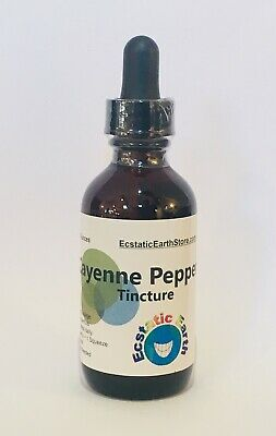Organic Cayenne Pepper Tincture Capsicum annuum Ecstatic Earth Herbal Extract