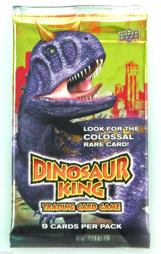 Dinosauro King Carte Collezionabili Singolo Booster Pacchetti Dino King TCG