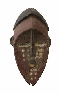 Mask Passport African Lengola DRC Wood 16cm Miniature Art First 16676
