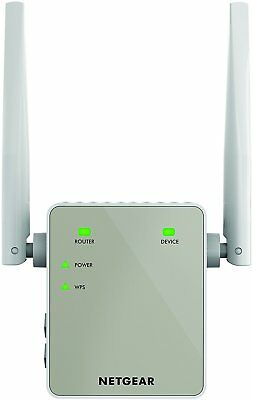 NETGEAR 11AC 1200 Mbps 300 Mbps + 900 Mbps Dual Band Wi-Fi Range Extender with
